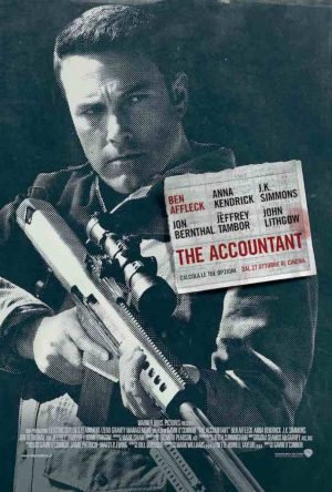 The Accountant:domingo 18 junio